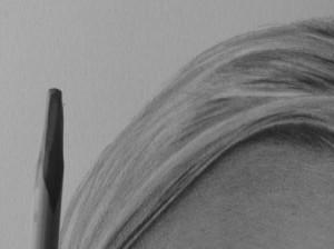 Kreslenie vlasov - podrobne. 16 Uk    ka kreslenia