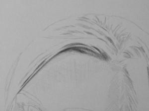 Kreslenie vlasov - podrobne. 2 Uk    ka kreslenia