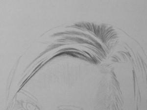 Kreslenie vlasov - podrobne. 3 Uk    ka kreslenia