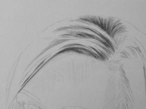 Kreslenie vlasov - podrobne. 4 Uk    ka kreslenia