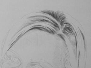 Kreslenie vlasov - podrobne. 5 Uk    ka kreslenia
