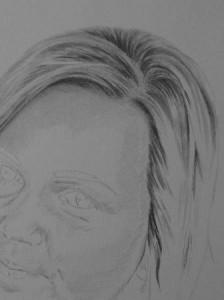 Kreslenie vlasov - podrobne. 8 Uk    ka kreslenia