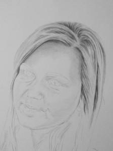 Kreslenie vlasov - podrobne. 9 Uk    ka kreslenia