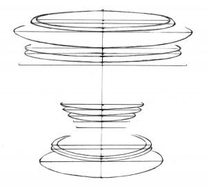 Kreslenie keramickej urny. Kreslenie keramickej urny. v03 300x270
