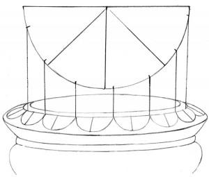 Kreslenie keramickej urny. Kreslenie keramickej urny. v09 300x255