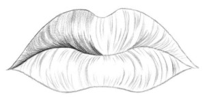 Kreslenie pier 03 kreslenie ľudských pier Kreslenie ľudských pier. Kreslenie pier 03 300x148