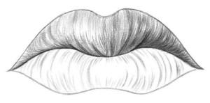 Kreslenie pier 05 kreslenie ľudských pier Kreslenie ľudských pier. Kreslenie pier 05 300x148