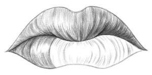 Kreslenie pier 07 kreslenie ľudských pier Kreslenie ľudských pier. Kreslenie pier 07 300x148