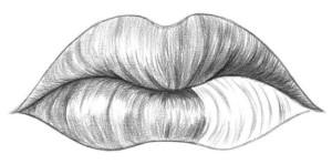 Kreslenie pier 08 kreslenie ľudských pier Kreslenie ľudských pier. Kreslenie pier 08 300x148