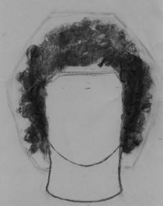 kučeravé vlasy 02 kreslenie kučeravých vlasov Kreslenie kučeravých vlasov. ku  erav   vlasy 02
