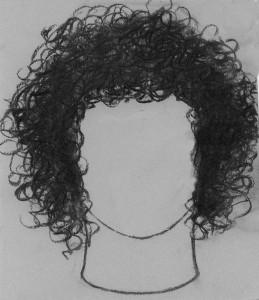 kučeravé vlasy 03 kreslenie kučeravých vlasov Kreslenie kučeravých vlasov. ku  erav   vlasy 03