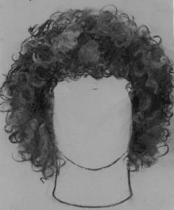 kučeravé vlasy 04 kreslenie kučeravých vlasov Kreslenie kučeravých vlasov. ku  erav   vlasy 04