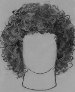 kučeravé vlasy 05 kreslenie kučeravých vlasov Kreslenie kučeravých vlasov. ku  erav   vlasy 05