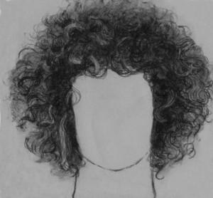 kučeravé vlasy 06 kreslenie kučeravých vlasov Kreslenie kučeravých vlasov. ku  erav   vlasy 06
