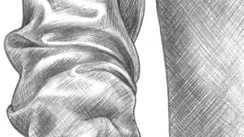 kresba rukavu kreslenie realistickej textílie Kreslenie realistickej textílie. Kreslenie ruk  vu 10 482x271