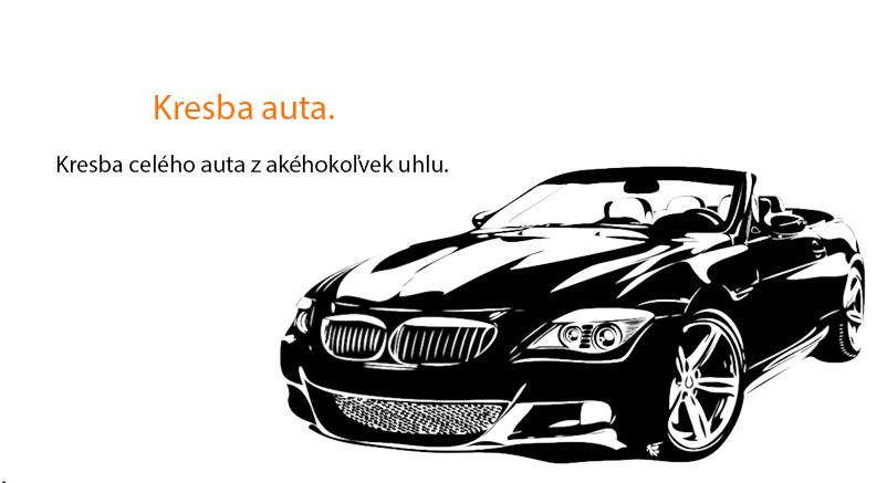 Kresba auta
