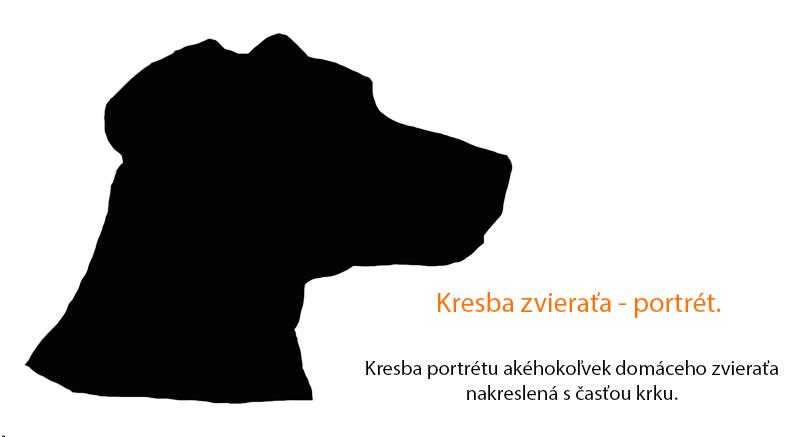 Kresba zvieraťa_portrét